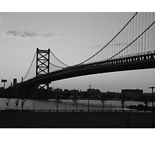Ben Franklin Bridge Photographic Print