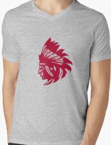 Native Mens V-Neck T-Shirt