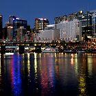 City Night @ Cockle Bay Darling Harbour by DavidIori