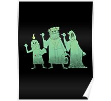 Hitch-hiking Christmas Ghosts Poster