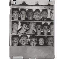 Which Is The Real Ventriloquist Head - Hollywood 1951 iPad Case/Skin