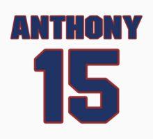 Basketball player Carmelo Anthony jersey 15 by imsport
