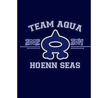 Team Aqua Photographic Print