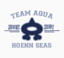 Team Aqua Kids Clothes