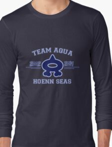 Team Aqua Long Sleeve T-Shirt