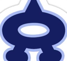 Team Aqua Sticker