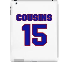 Basketball player DeMarcus Cousins jersey 15 iPad Case/Skin