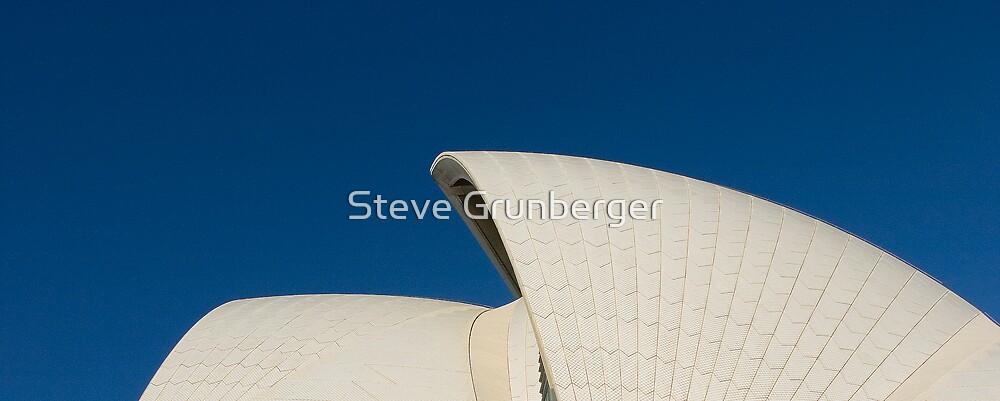 Opera House Sails by Steve Grunberger