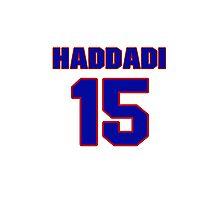 Basketball player Hamed Haddadi jersey 15 Photographic Print