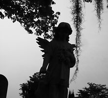 Guardian angel in times of darkness by Cyndi Jamerson