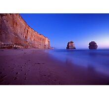 twilight apostles - Victoria Photographic Print