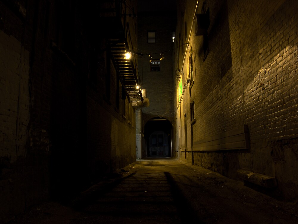 The Alleyway by Geoffrey