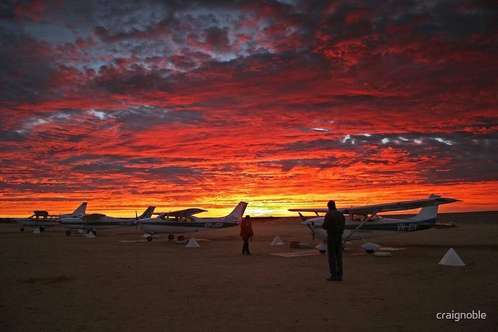 Sunrise Flight by craignoble