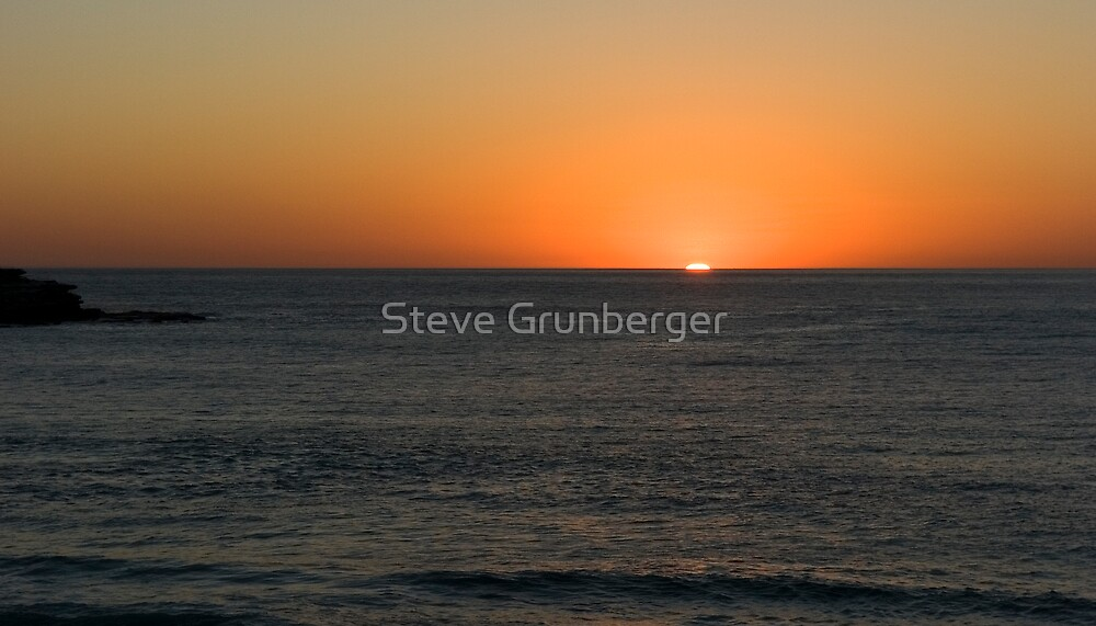 Bondi Sunrise  by Steve Grunberger