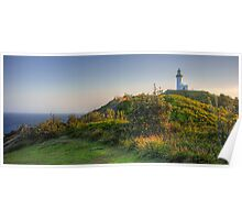 Byron Bay Lighthouse HDR Poster