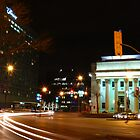 Portage and Main, Bank of Montreal building by Geoffrey