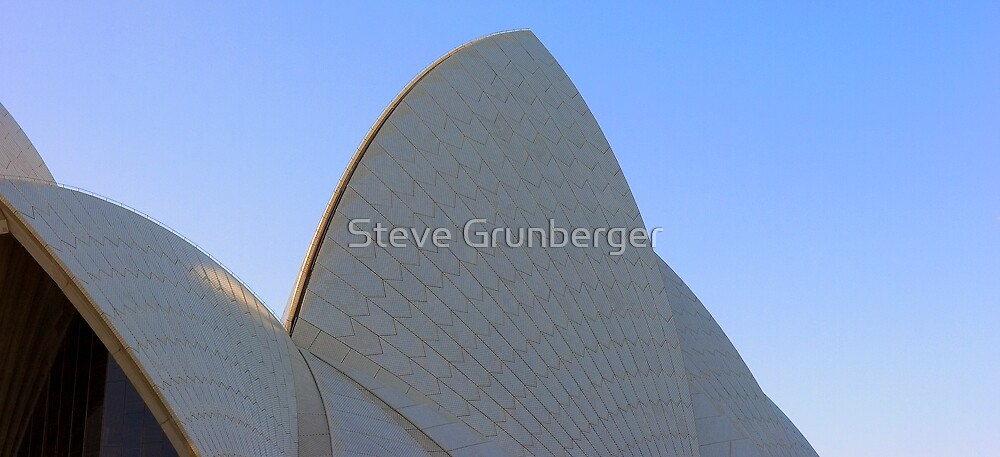 Sydney Opera House Sails by Steve Grunberger