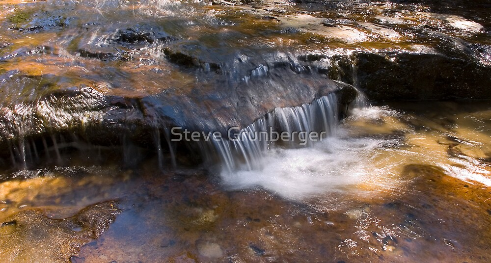 Wentworth Falls - Blue Mountains by Steve Grunberger