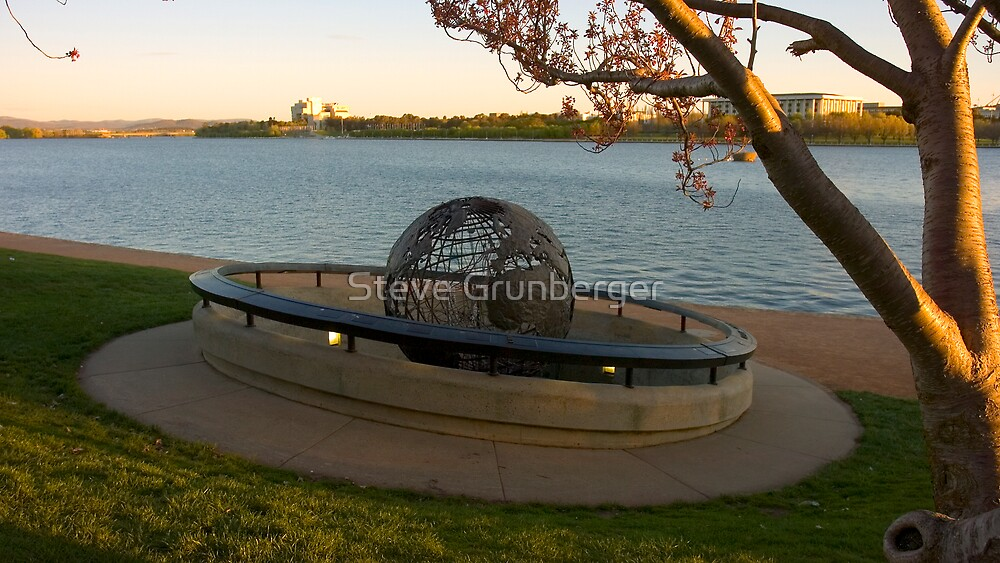 Canberra Copper Sculpture by Steve Grunberger