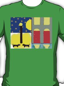 DOGS IN THE MOONLIGHT T-Shirt