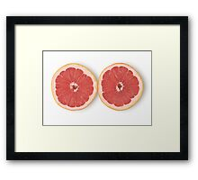 Grapefruit as Healthy and Nutritious Dietary Supplement  Framed Print