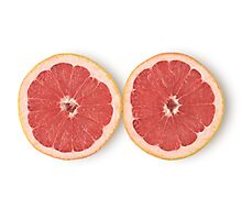 Grapefruit as Healthy and Nutritious Dietary Supplement  Photographic Print