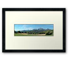 Panorama from Giucugnano Framed Print