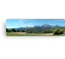 Panorama from Giucugnano Canvas Print