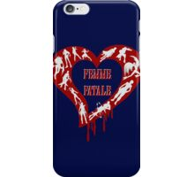 Femme Fatale Game Girls iPhone Case/Skin