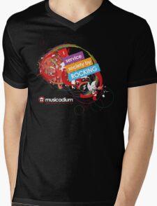 I Service Society By Rocking Mens V-Neck T-Shirt