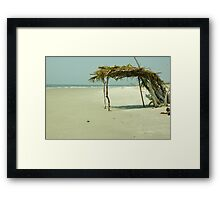 Little Tybee Island Framed Print