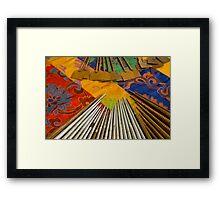 Tools For The Mandala Framed Print