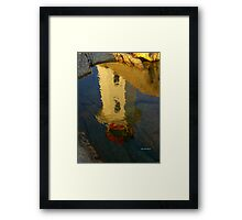 A Reflection on a Clear Day.... Framed Print