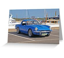 Triumph Spitfire 4 - 1963 Greeting Card