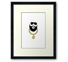 Rick Ross: rich forever Framed Print