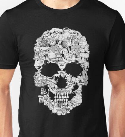 Clip Art Skull T-Shirt