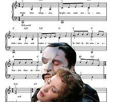 The Music of the Night - Phantom of the Opera by Katherine Kaplan