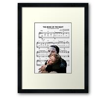 The Music of the Night - Phantom of the Opera Framed Print