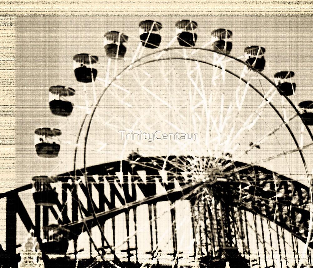 ferris wheel by TrinityCentaur