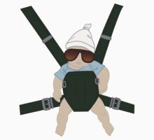 Hangover Baby Carlos in Carrier One Piece - Long Sleeve
