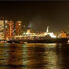QE2 Harbour Bridge Panorama by DavidIori