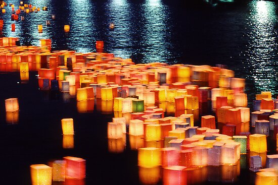 In rememberance -  Hiroshima, August 6 2003 by Jaxybelle