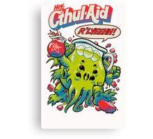 CTHUL-AID Canvas Print