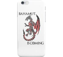 Bahamut Is Coming iPhone Case/Skin