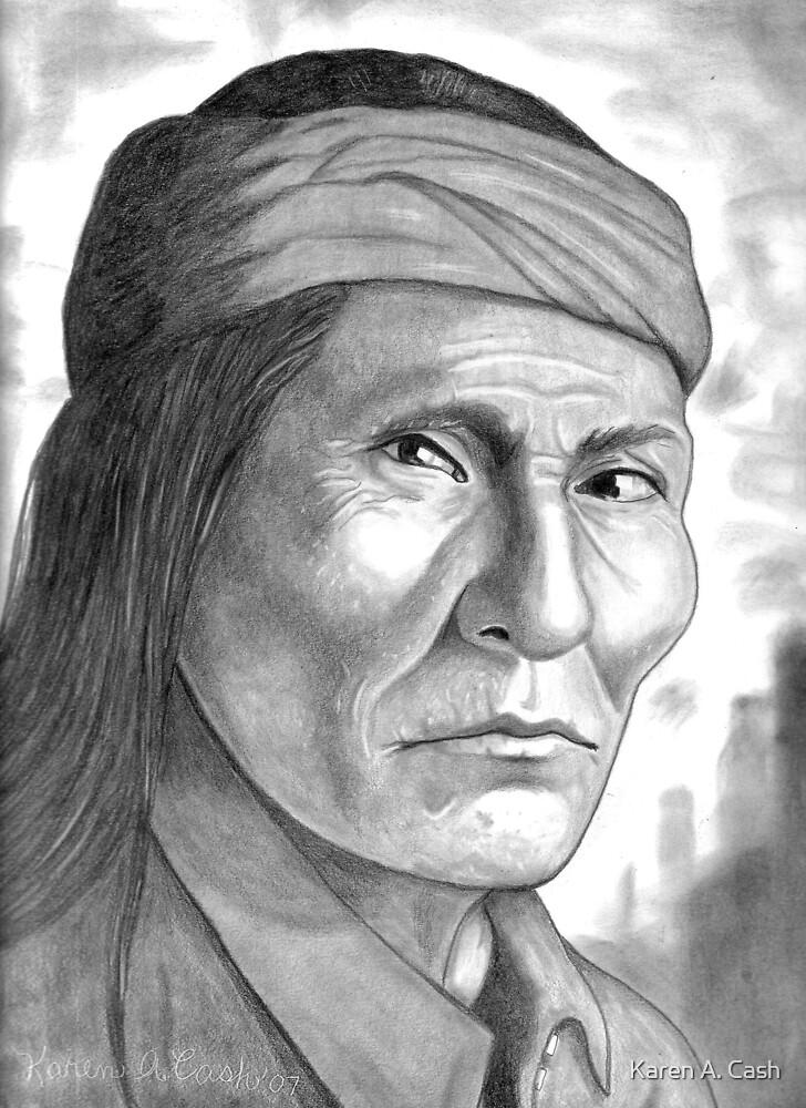 'Naiche, son of Cochise'-Apache by Karen A. Cash