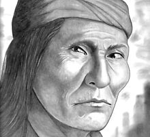 'Naiche, son of Cochise'-Apache by Karen A. Cash