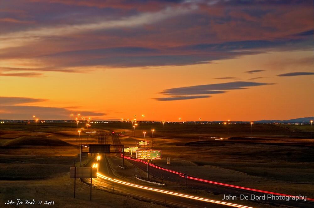 The Sunrise Highway by John  De Bord Photography