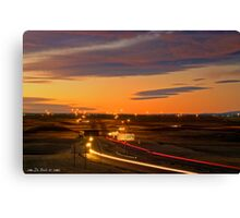 The Sunrise Highway Canvas Print