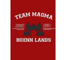 Team Magma Photographic Print