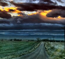 The Rural Road by John  De Bord Photography